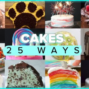 These Cake Recipes Will Be A Delight To Your Stomach and Eyes • Tasty Recipes