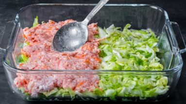 My mother-in-law loves me even if I don't make stuffed cabbage! Innovative recipe!