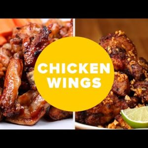 11 Unique Ways To Eat Chicken Wings