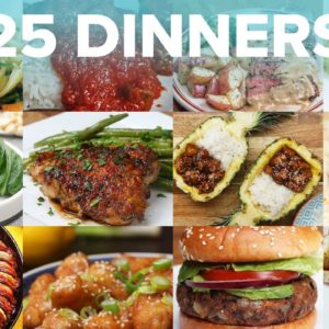 25 Dinners For 25 Days