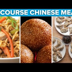 3-Course Chinese Inspired Meal