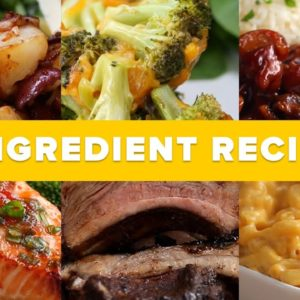 3 Ingredient Recipes For An Entire Week • Tasty Recipes