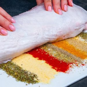 8 SPICES that you MUST use if you cook pork TENDERLOIN