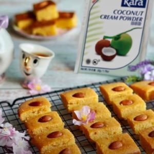 Coconut Suji Squares (Super Easy. Just Mix and Bake!)