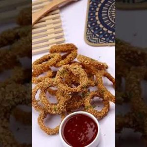 Crispy Onion Rings,Quick And Easy Snacks Recipe By Recipes Of The World