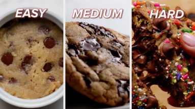 Easy To Hard: Chocolate Chip Cookies Recipes