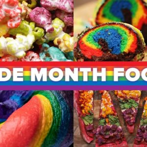 Foods To Celebrate Pride Month