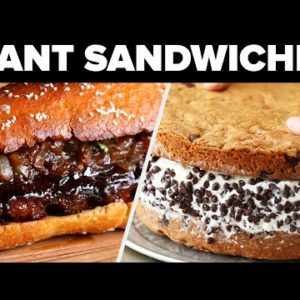 Giant Sandwiches For Giant Cravings!