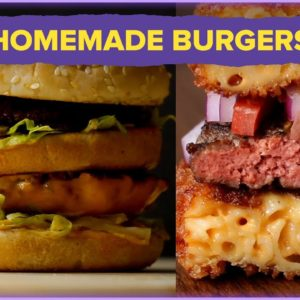 Homemade Burgers That Will Make You Forget About Takeout