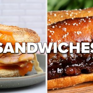 How Many Sandwiches Would You Recreate From Here? • Tasty Recipes