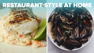 How To Make Restaurant Quality Seafood At Home