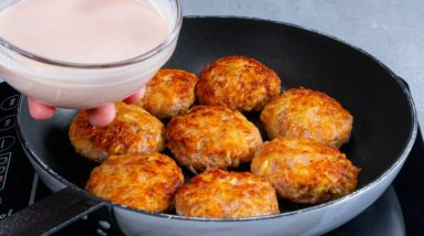 I don't cook MEATBALLS without SAUCE anymore.You just lick your fingers!