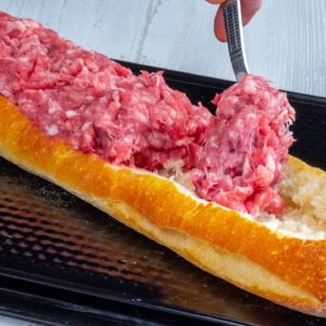 I FILL the wand with minced meat -  my family ADORES THIS RECIPE!