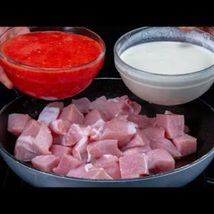 IF I don't COMBINE WHITE with RED I don't WASTE the PORK meat