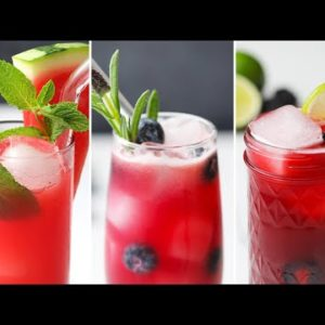 Summer Lemonades 3 Ways in 15 Minutes or Less // Presented by BuzzFeed & GEICO