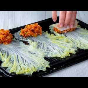 MODERN housewives prepare stuffed cabbage with MEAT in this way