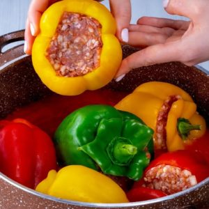 MORE MEAT than rice! This is how you should fill the PEPPER