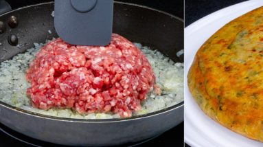 AMAZING food made of MINCED MEAT and ingredients that you have in your HOME!