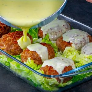 DINNER made of minced meat and CABBAGE. You can find the ingredients in EVERY store