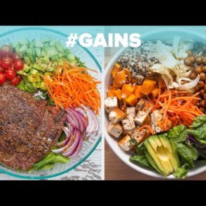 Protein-packed Meals For All The Gains