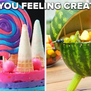 Recipes For When You're Feeling Creative • Tasty Recipes