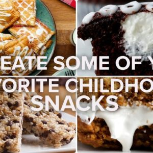 Recreate Some Of Your Favorite Childhood Snacks • Tasty Recipes