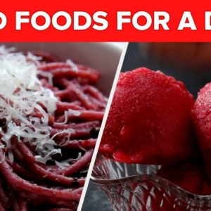 Red Foods For A Day • Tasty Recipes