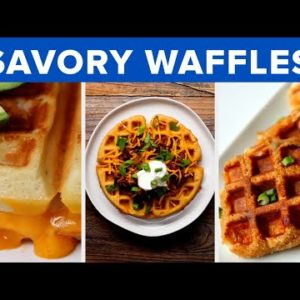 Savory Waffles So Good, You'll Forget Dessert
