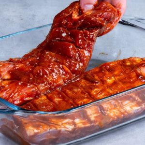 The secret is the MARINADE. This is the only way I cook pork ribs for years