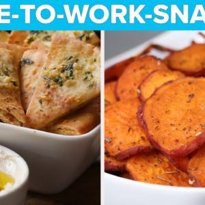 Snacks You Can Take To Office