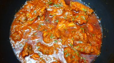 Restaurant style chicken masala curry | Chicken masala curry with kaju and tomatoes |