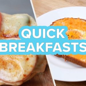 Super Quick Breakfasts That Every Millennial Should Know • Tasty Recipes