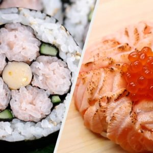 Sushi Recipes To Soothe Your Soul!