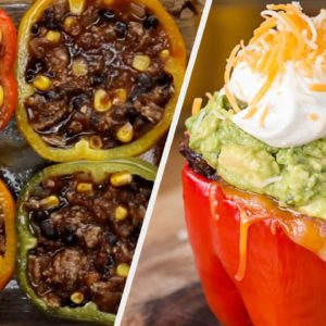These Bell Pepper Recipes Are The 'Bell' Of The Ball • Tasty Recipes