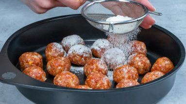 How to transform meatballs into a fantastic dinner in order to impress anyone