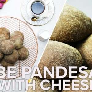 Ube Pandesal with Cheese • Tasty Recipes