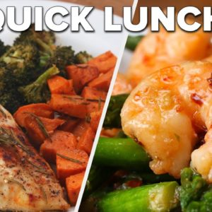 Busy schedule? Whip These Lunches Up In Less Than 30 Minutes • Tasty Recipes