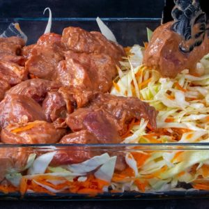 You can prepare a FANTASTIC DINNER using only MEAT and CABBAGE!