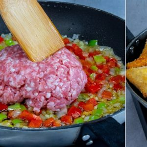 You DIDN'T know this TRICK with minced meat. You will be impressed!